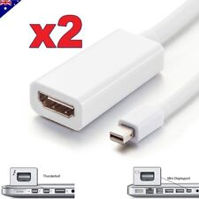 2X Mini Display Port DP Thunderbolt to HDMI Adapter for MacBook Pro Air Mac iMac