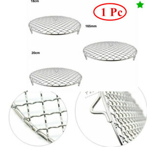 Multi-Purpose Cross Wire Steaming Cooling Barbecue Rack Cooking Grate BBQ Net
