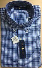 Ralph Lauren Men's Long Sleeve Regular Fit Shirt - XL (BLUE/ROYAL)