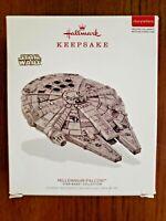 2018 Hallmark Keepsake Ornament Star Wars MILLENNIUM FALCON Storytellers NEW