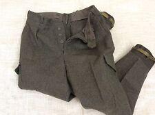Men's CBV Karlskorna Vintage Cold War Swedish Army Pants Wool 33 Inch Waist