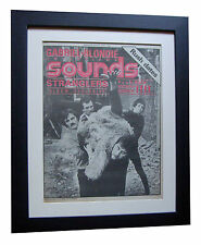 STRANGLERS+Sounds 1977+Rattus+Grip+POSTER+FRAMED+ORIGINAL+EXPRESS GLOBAL SHIP
