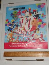 Macy's 90th Thanksgiving Day Parade Advert Lists Balloons Floats Talent 2016