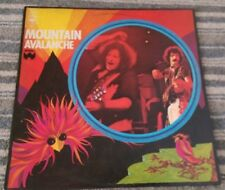 ** MOUNTAIN : Avalanche : CBS UK FIRST PRESS 1974 **
