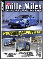 MILLE MILES N° 119 MARS / MAI 17 Nelle alpine A110 1600 SX 1300 S