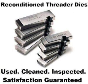 Ridgid 500B 1-3/4 In UNC LH Left Hand Bolt Threading Dies for 500B Thread Heads