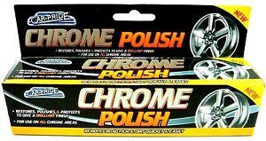 Car Pride Chrome WHEEL Metal Polish Cleaner Restorer Protector Paste Car Home Uk