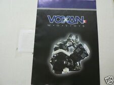 D829 BROCHURE VOXAN MOTOS FRENCH 8 PAGES SCRAMBLER,STREET,CAFE RACER,BLACK MAGIC