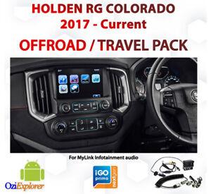 Holden Colorado 2017 - Current Offroad / Street Navigation & Camera upgrade pack