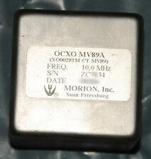 Morion Double oven ultra precision OCXO MV89A 10MHz +12V