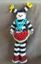 Zuni Beaded Large Koshari Clown by Rolanda Booqua - Direct from Zuni