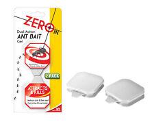 Zero In Doppia Azione Formica Esca Gel Traps 2 Pack Insetticida Per Formiche