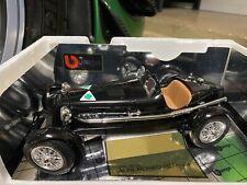 Burago BBurago Alfa Romeo 8C Monza 1931 1/18 Scale In RARE Black Code 3014