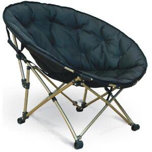 XXL Moon Chair großer bequemer Camping Stuhl Faltsessel Klappstuhl Campingstuhl