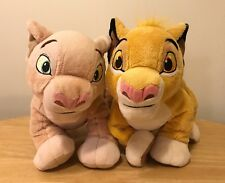 "The Lion King Simba & Nala 12"" Plush Set - Disney Store Exclusive"