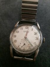 Vintage Roamer Incabloc Manual Winding Gents Watch 17 jewels. CAL364. Working.