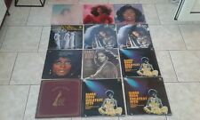 DIANA ROSS LP COLLECTION JOBLOT**EATEN ALIVE/ROSS/GREATEST HITS/LADY SINGS BLUES