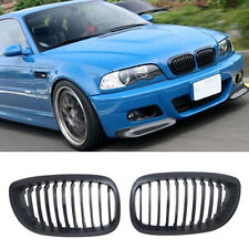 Front Kidney Grilles Grill For BMW E46 2 Door Couple Convertible Facelift 03-06