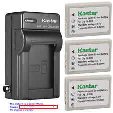 Kastar Battery Wall Charger for Olympus Li-80B & OLYMPUS T-100 T-110 X-36 X-960