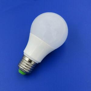 E27 A19 A60 5W LED Ceiling Globe Blub AC DC12~24V/85~265V Lamp Equivalent 60W T
