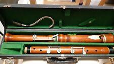 Rare and beautiful G.H. HÜLLER F-Bass recorder