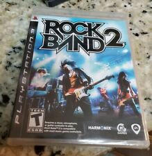 Rock Band 2 (Sony PlayStation 3, 2008) NEW Factory Sealed