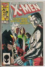 Marvel Comics Uncanny X-Men #210 October 1986 Mutant Massacre F+