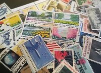 25 MNH OLD and  All Different 6 cent stamps
