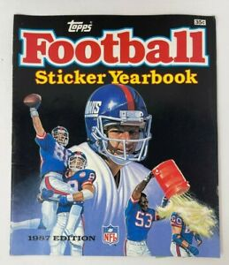 Topps Football Sticker Yearbook 1987 No Stickers in Book