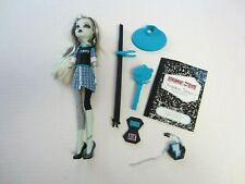 Monster High Doll Frankie Stein School's Out Diary Stand Brush