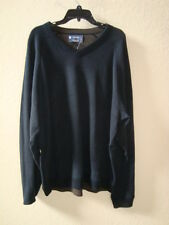 Cremieux NWT Mens Classics Black V Neck Sweater XXL NEW
