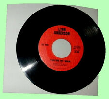 45 RPM - LYNN ANDERSON You're My Man / I'm Gonna Write A Song VG #1 COUNTRY HIT!