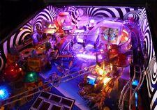 Ultimate Twilight Zone Flipper Spirale Tourbillon Intérieur Cabinet & Planche Decal mod