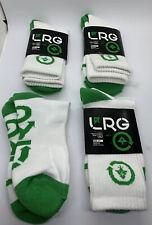 LRG Socks Lot 4 Pairs Sz. 7-9