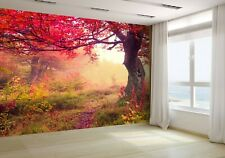 Majestic Landscape With Trees Wallpaper Mural Photo 31677696 budget paper