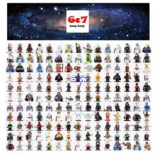 More than 100 All Star wars Custom Mini figures Fits Lego C-3PO Darth Vader Yoda