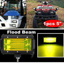 1x 5inch 72W LED Work Light Bar Flood Light Offroad 4WD Boat ATV UTV Fog Driving