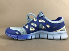 Nike Free Run 2 Running Shoes Light Blue 7 Lightweight