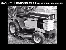 Massey Ferguson Mf14 Workshop & Parts Manuals for Mf 14 Tractor Service & Repair