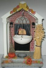 Yankee Candle Wax Melt Tart Warmer HARVEST BOUNTY Collection Front Door Lighted