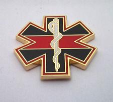 1ST RESPONDER RED LINE HONOR Hero Hat Pin P06211 EE