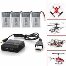 Hot 4pcs 3.7v 600mah Lipo Battery Charger for Syma X5c F5c RC Drone Rc165