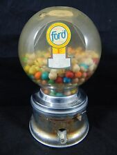 #2 Ford Gumball Machine Vendor FORD VENDING MACHINE VINTAGE