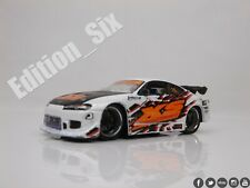 Jada Toys 1:64 NISSAN Silvia S15 200sx Drift car option D JDM