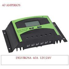 REGULADOR SOLAR 40A 12/24V SOLAR CONTROLLER 12 / 24V 40A ENTREGA 24-48 HORAS