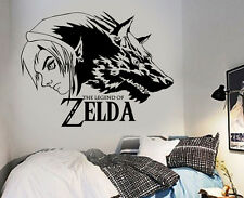 Legend Of Zelda Wolf Link Vinyl Wall Art Sticker/Decal