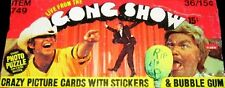 Vintage The Gong Show (Complete 36 Wax Packs) (Fleer 1977) Chuck Barris (RIP)
