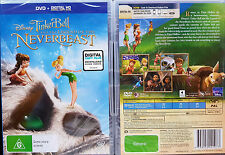 TINKER BELL AND THE LEGEND OF THE NEVERBEAST Blu-Ray REGION A, B, C oz seller