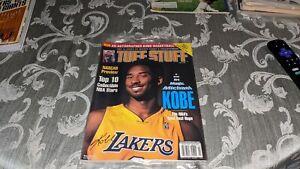 2000 Kobe Bryant Los Angeles Lakers Tuff Stuff Magazine Sealed
