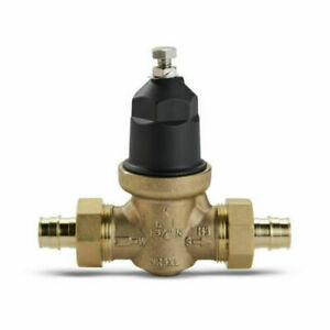 """Zurn Water Pressure Reducing Valve Double Union Connection for 3/4"""" PEX"""